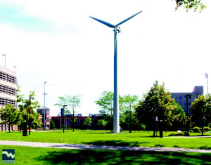 CWRU plans to harness wind power with turbines