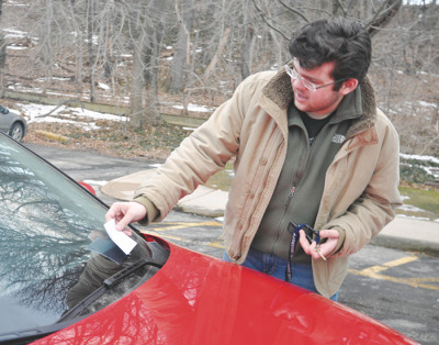 Parking woes: Current university policy leaves students space-less