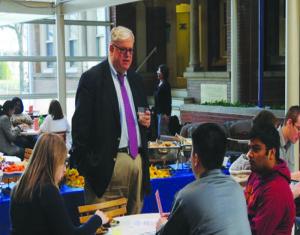 'Study breaks' to bridge gap between students, dean