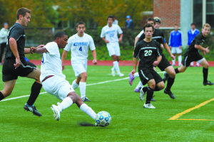Men's Soccer Ends Slump with Win Against Heidelberg