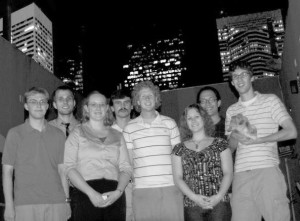 Small, yet dedicated group of materials science majors represent CWRU at convention in Houston