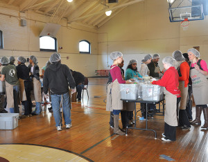 CWRU community participates in campus-wide Saturday of Service