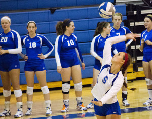 Volleyball takes home fourth-place for third year at UAAs