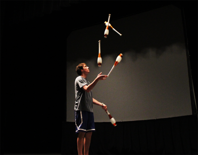 CWRU Juggling Club hosts Juggling Spectacular