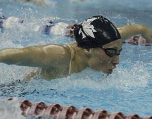 Dillione named two-time All-American in 100-, 200-yard butterfly