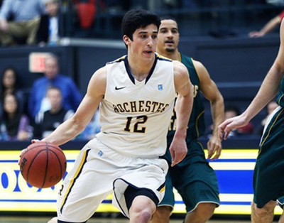 Rochester's John DiBarolomeo named 2013  D3hoops.com men's basketball player of the year