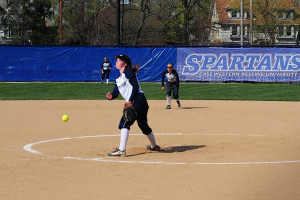 Softball continues dominance at home