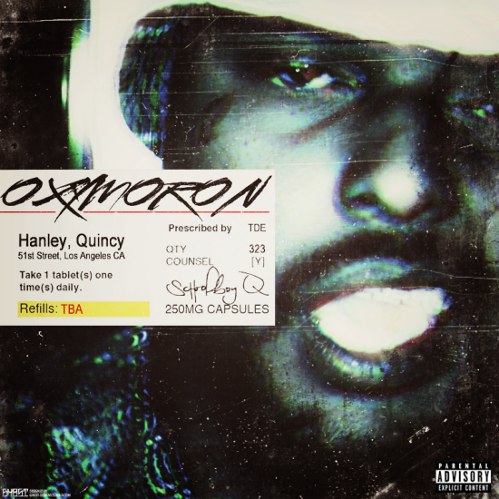 Oxymoron Cover Schoolboy Q 550 215 550 The Observer