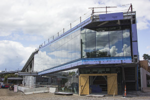 Tinkham Veale University Center construction on schedule