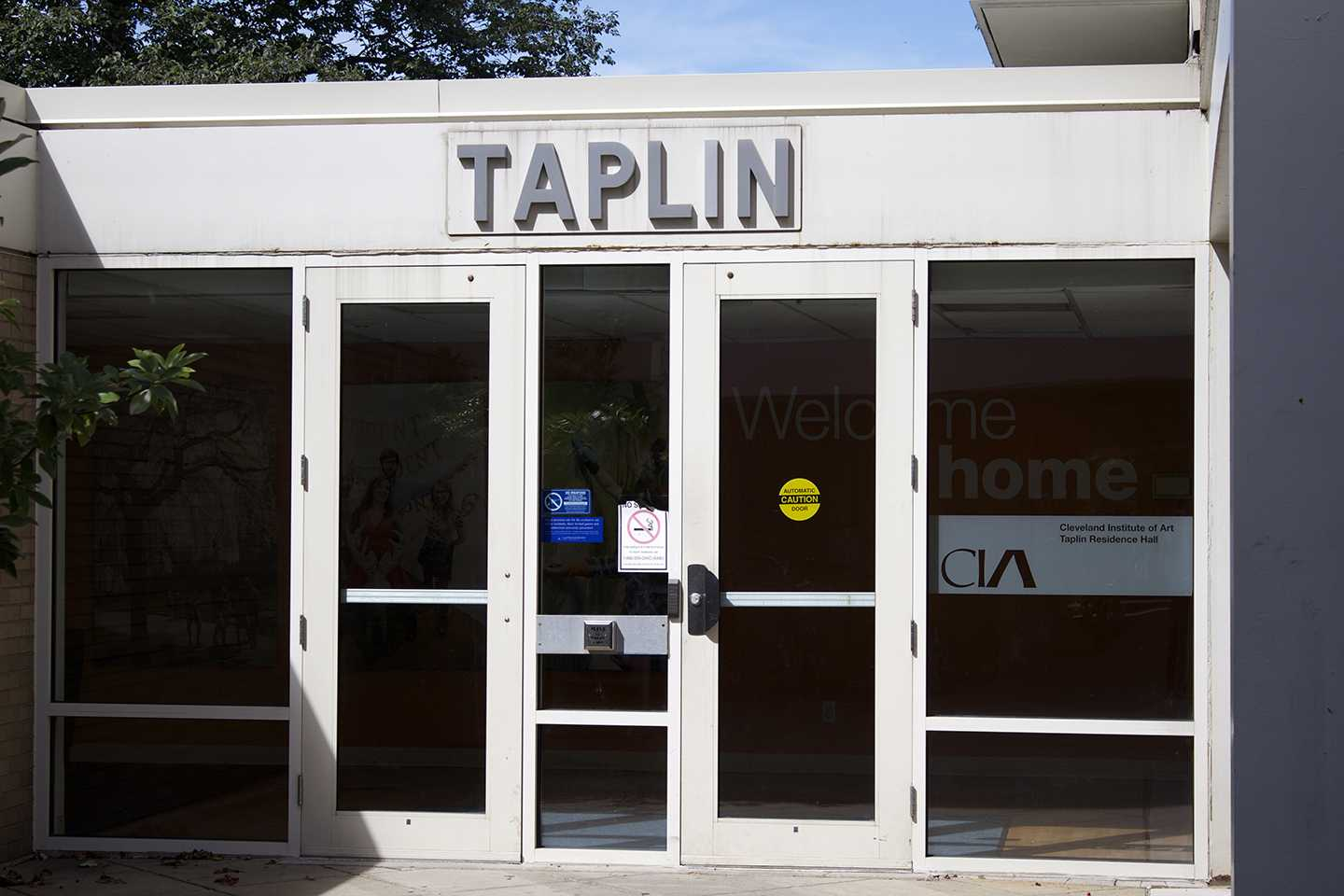 The university's lease of Taplin Hall to CIA will expire at the end of this school year.