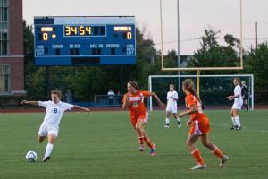 Spartan Women Shut Out Heidelberg in Home Opener