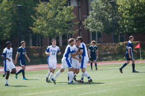 Men's Soccer remains unbeaten in season opener