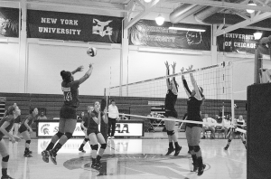 Spartan Volleyball battles back versus Baldwin Wallace