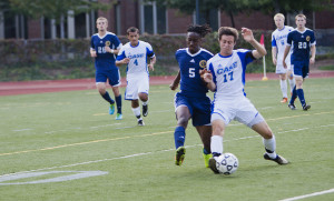 Men's Soccer rebounds from season's first loss with decisive win