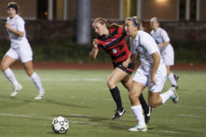 Women's soccer falls short in last game