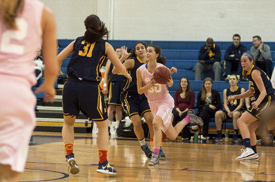 Women's basketball loses two straight on the road
