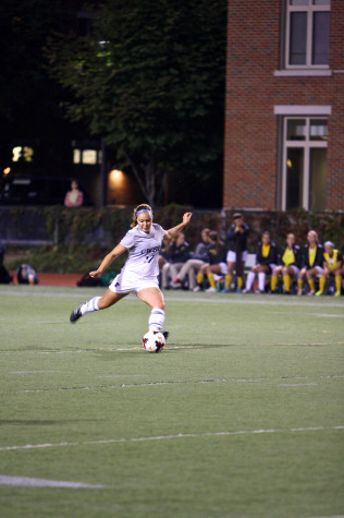 Women's soccer undefeated at home