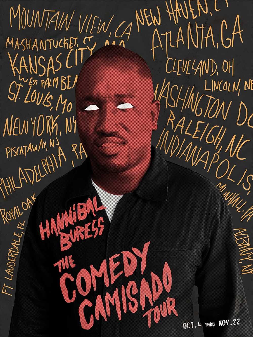 The Comedy Camisado Tour will bring Hannibal Buress' interesting take on comedy to Playhouse Square's Ohio Theater on Oct. 12