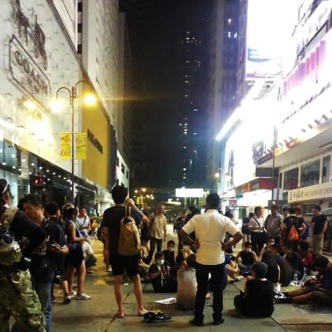 Hong Kong protest hit CWRU