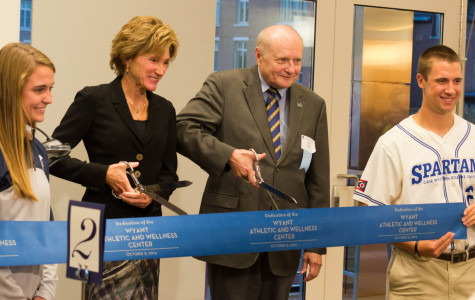 Wyant Athletic and Wellness Center comes full circle