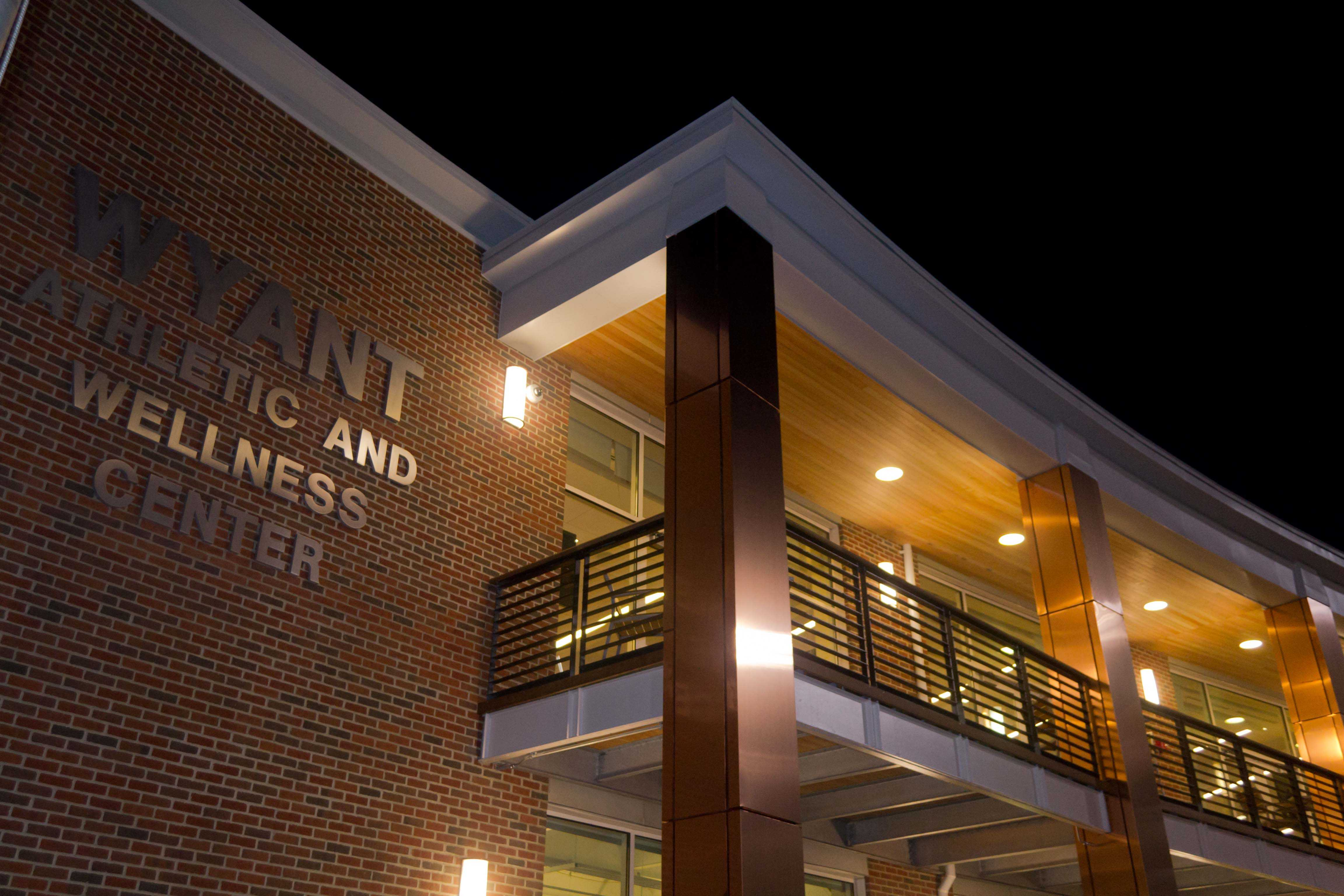 New Wyant Athletic and Wellness Center opens for use on Monday, October 19th.