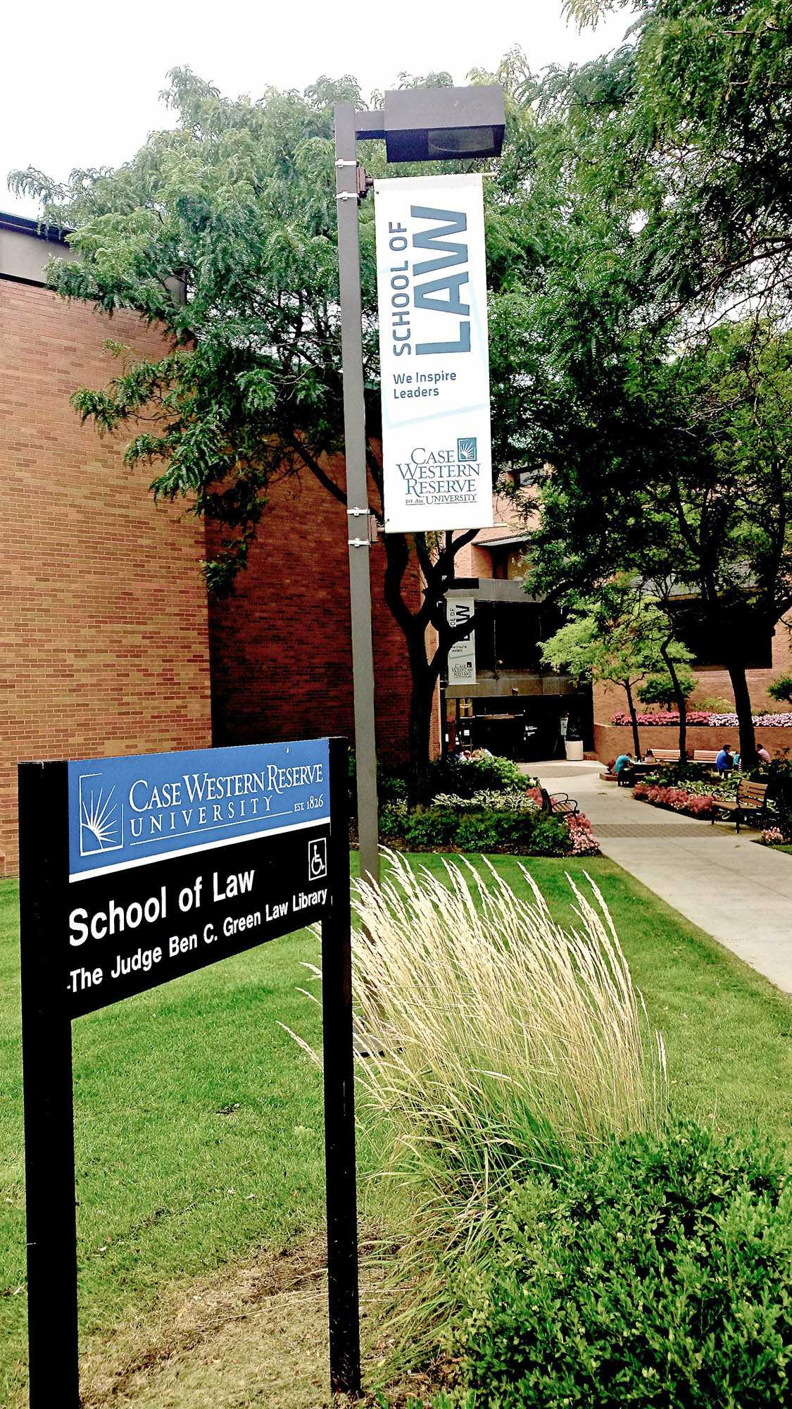 Bucking the national trend, the CWRU School of Law saw an increase in applications this past year.