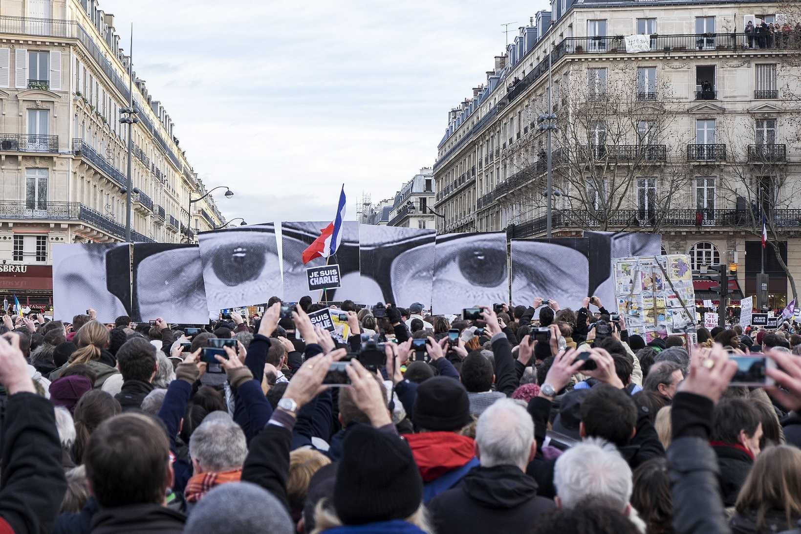 The attack on the Charlie Hebdo offices elicited strong reactions worldwide.