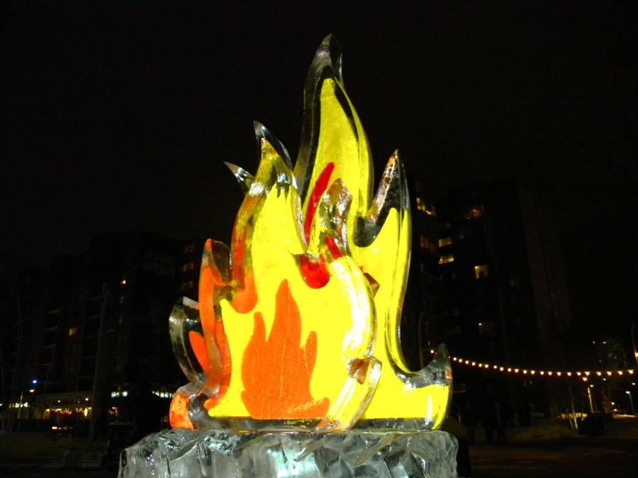 Fire and Ice, Uptown Cleveland's latest event, had many different events to keep Clevelanders outside even in the snow.