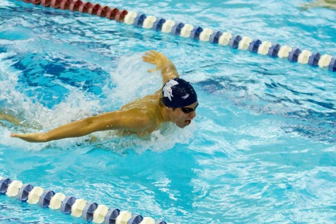 Swimming and diving win final tuneup