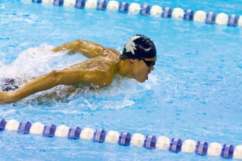 Swimming and Diving finishes strong in Midwest Invitational