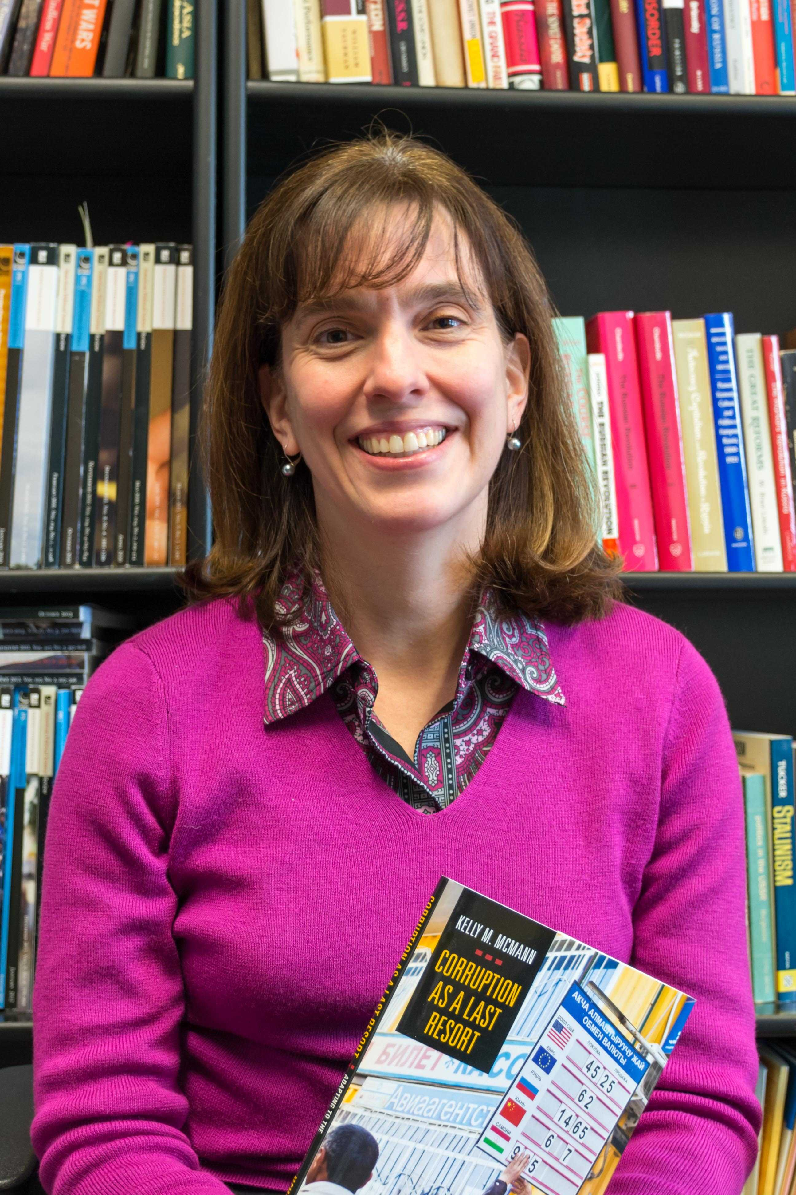 Assistant professor Kelly McMann's book was inspired by her time living with families in the former Soviet Union.