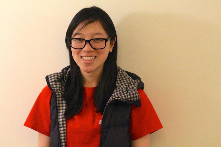 Senior Jessica Lin studied how a drug designed to lower blood cholesterol can reduce tumor growth.