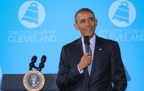 An inside look at President Obama's visit to Cleveland
