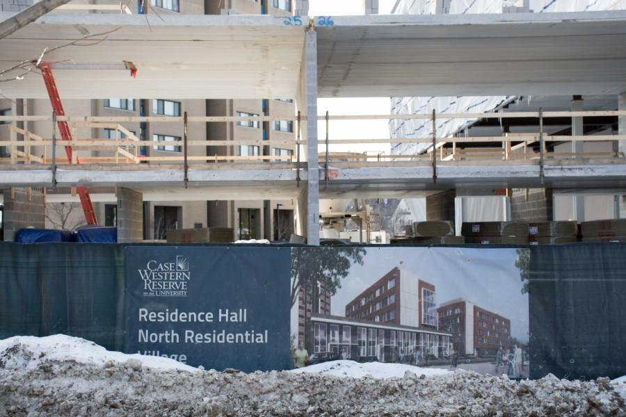 The+new+residence+hall+will+not+open+until+Sept.+12%2C+displacing+its+290+occupants+for+the+first+two+weeks+of+the+fall+semester.