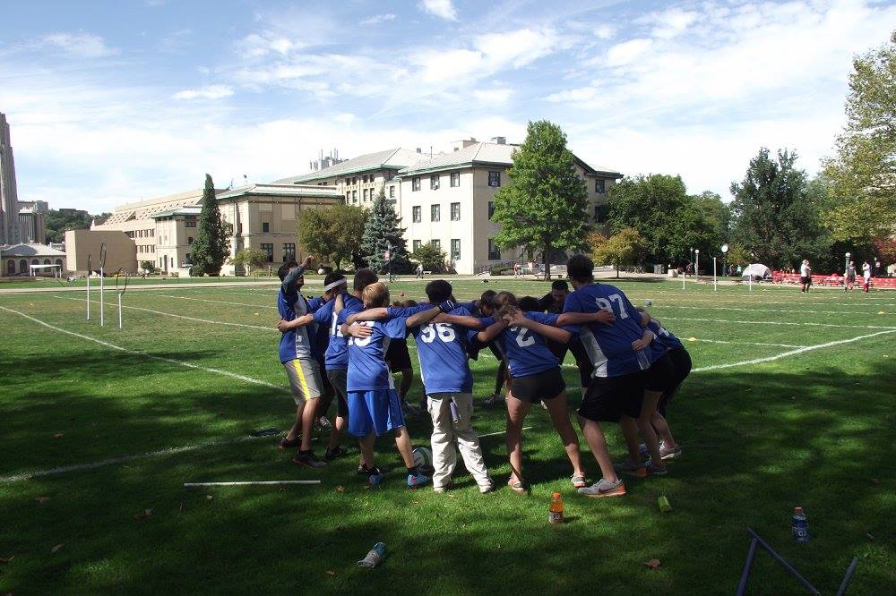Cwrucio, the Quidditch team here at CWRU, will host their first home game of the season on Saturday.