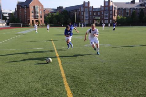 Men's soccer dominates Waynesburg