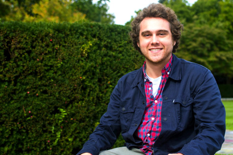 Student publishes book about nature's restorative power