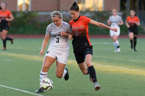 Women's Soccer splits weekend series