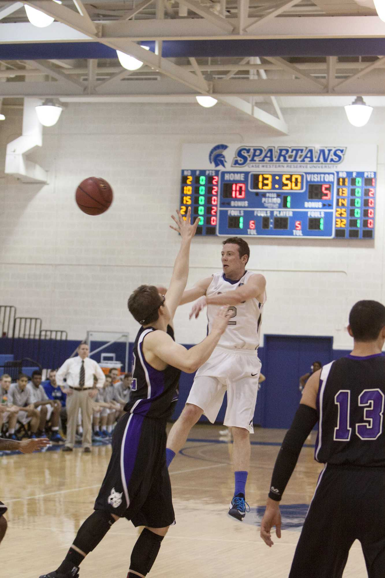 The Men's Basketball team swept the tournament before losing to Denison this week.