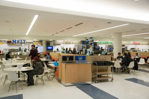 Students can now use three meal swipes per week outside of the dining halls