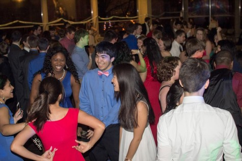 Annual Yule Ball combines dancing and magic