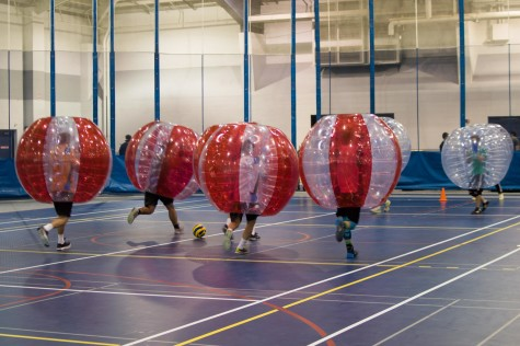Bubble soccer bursts onto scene at CWRU