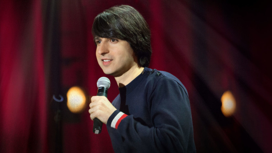 Demetri+Martin+performed+stand+up+at+UPB%27s+Spring+Comedian+event.