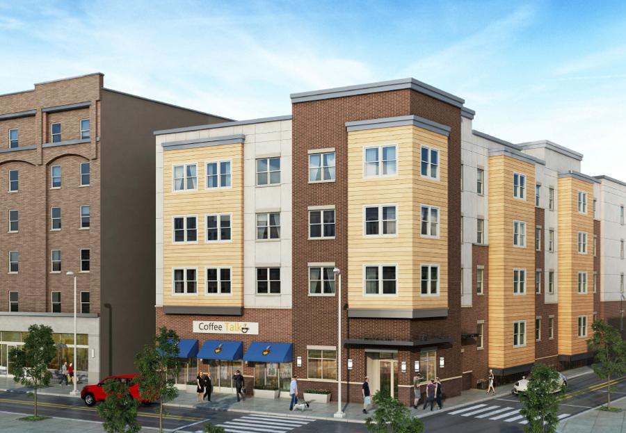 The new apartment building replacing Piñatas will have apartments for about $1,000 per month.