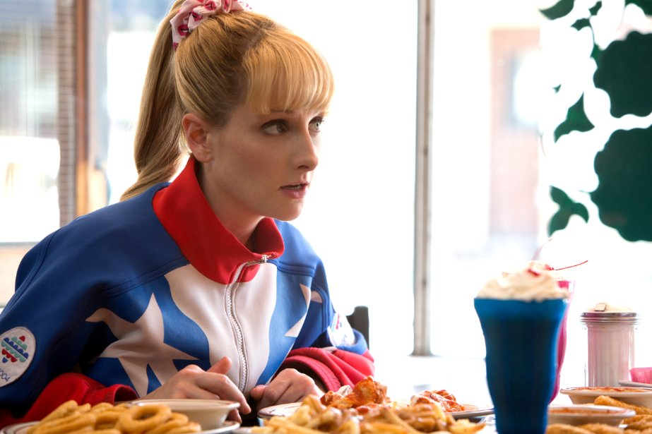 Melissa Rauch plays a whiny Olympic medalist who is the star of her small Ohio town.