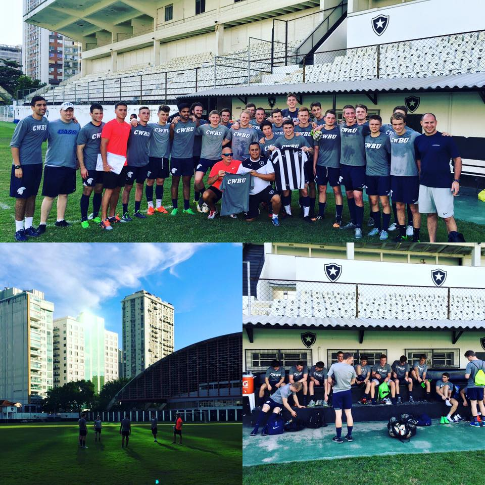 The Spartans Men's Soccer team traveled to Brazil over Spring Break giving them both a relaxing break and an international soccer  experience.