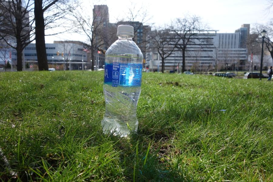 The Student Sustainability Council has a several-year plan for implementing renewable energy sources and plans to work on campus's water infrastructure before disposable water bottles are banned.