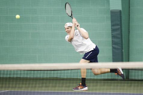 Men's tennis dominates opposition