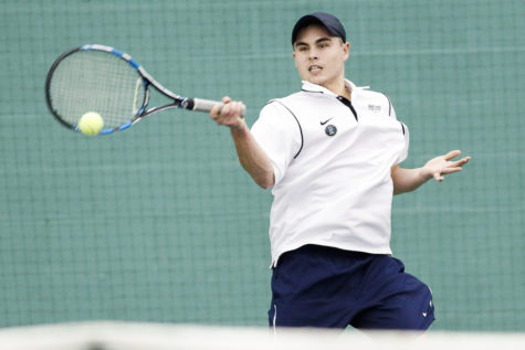 Men's tennis earns sixth place at indoor championships