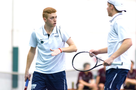 Rocky trip out west for men's tennis team